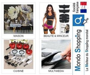 Mondoshopping propose des produits de la meilleure qualité à des prix réduits
